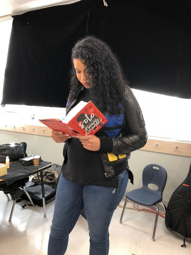 Guess who039s reading Solo
