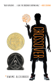 cover of the book the Crossover by Kwame Alexander