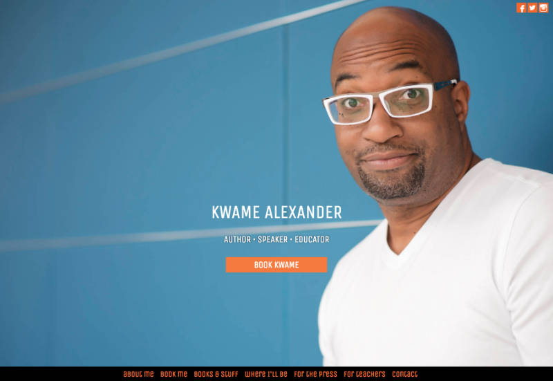 QUESTIONS AND ANSWERS WITH KWAME ALEXANDER - Kwame Alexander - me